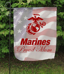 Garden Flag for a Marine Mom