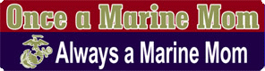 Bumper Magnet for a Marine Mom
