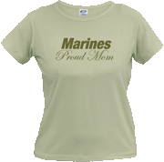 New Shirt Design for a Marine Mom